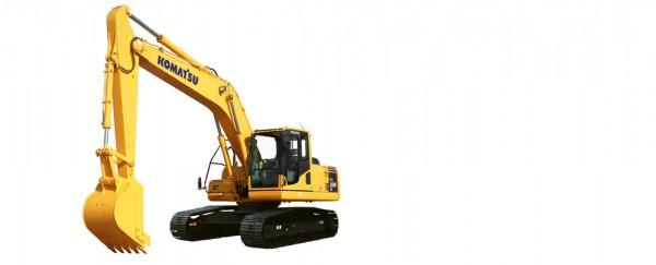 广州市小松pc200 20T挖掘机出租