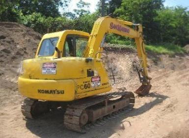 广州市小松60 6T挖掘机出租